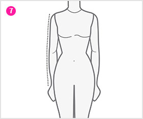 Sleeve Length - Measurement