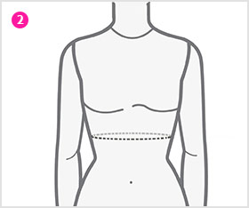 Around Above Waist Measurement