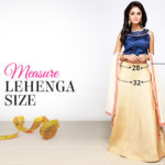 Measurement Guide: Custom Fit Lehenga & Choli