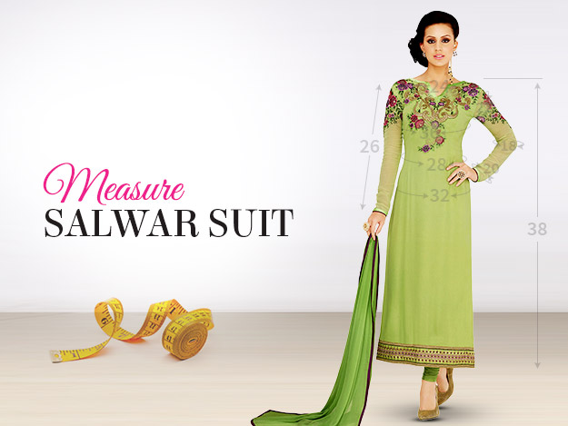 Measurement Guide: Tailor-Made Salwar Kameez