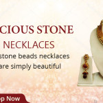 Attraction of Stone Bead Necklace