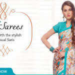 Fashionable Casual Sarees