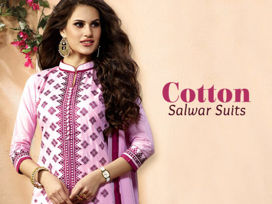 Some Very Classy Ways to Wear Cotton Salwar Kameez
