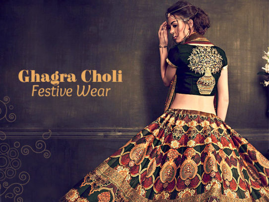 Ghagra Choli - Perfect for Festivities