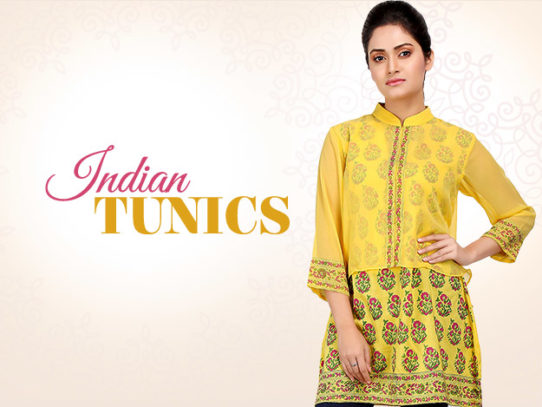 You Must Try Stunning Indian Tunics