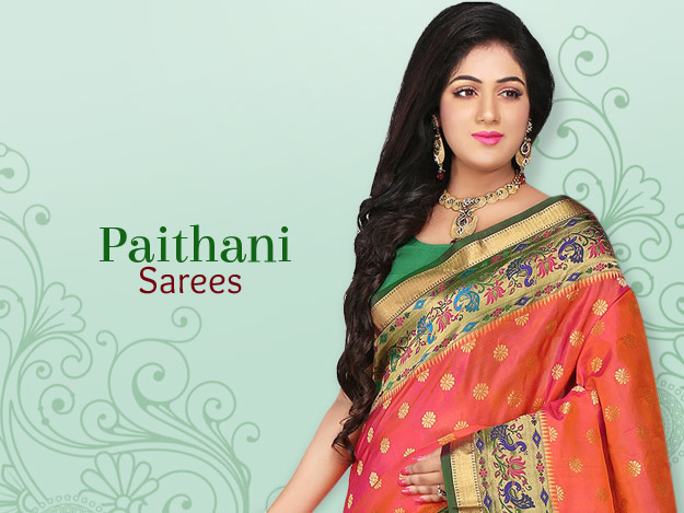 Regal Paithani Sarees From Maharashtra, India