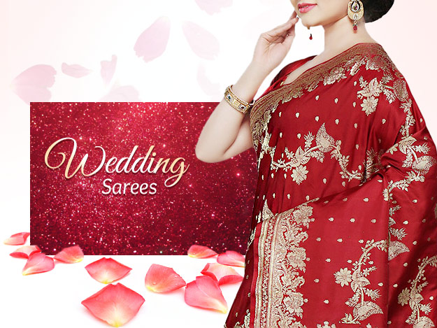 Do Consider These Wedding Sarees For Your D-Day!