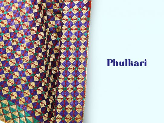 Phulkari - The Rainbow Art From Punjab