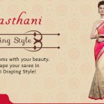How to Drape Rajasthani Style Saree