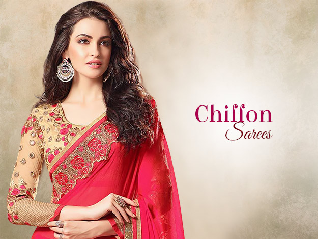 Freshen Up Your Summer Wardrobe With Chiffon Sarees