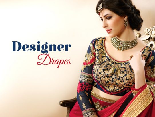 Why Every Woman Adores A Designer Saree?