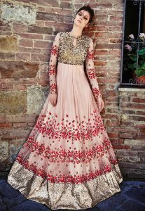 embroidered-abaya-style-suit-in-peach