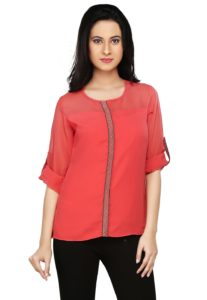 georgette-top-with-phulkari