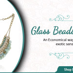 The Bohemian Vibe with Glass Beads Necklaces