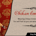 Exquisite Chikan Embroidery