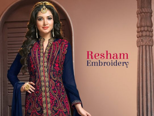 Resham Embroidery: Threads of Splendour