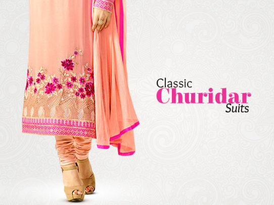 Churidar Salwar Suits - Whenever, Wherever Style
