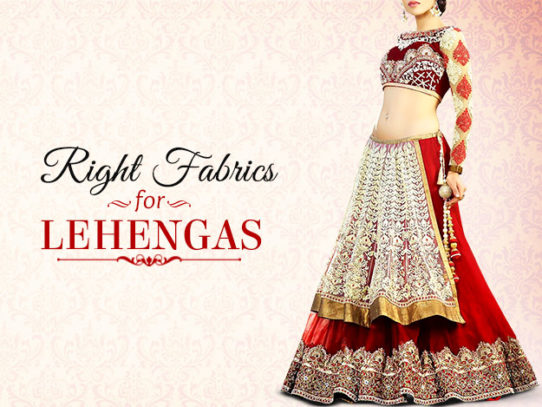 These Fabrics Are Perfect For Your Lehenga Choli!