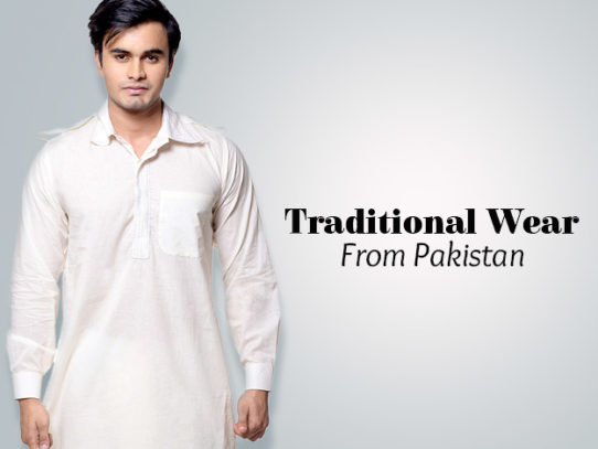 Men's Traditional Clothing in Pakistan