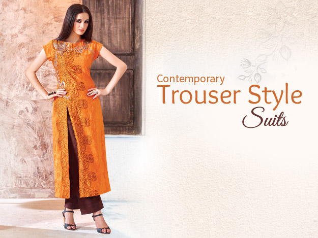 Trouser Style Suits Are Your Perfect Office Wear!