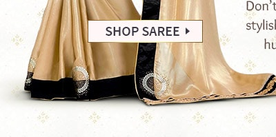 AW'16-17 Festive trend: Golden-hued Sarees in rich fabrics with shimmering Add-ons Shop!