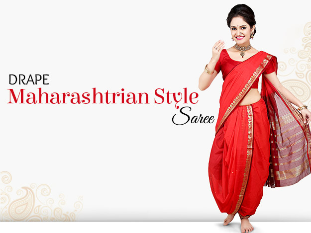 how to wear butterfly style saree step by step