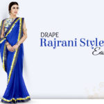 DIY Video to Drape Rajrani Style Saree