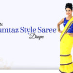 DIY Video to Drape Iconic Mumtaaz Style Saree