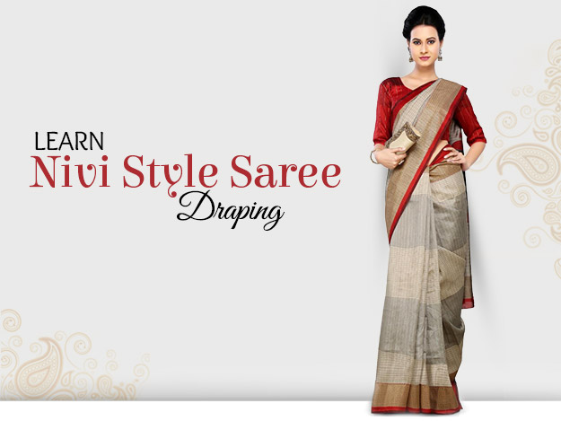 DIY Video to Learn Nivi Style Saree Draping