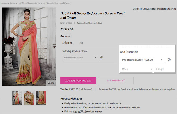 how-to-get-pre-stitched-saree