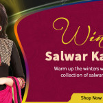 Silk Fabric Makes For Perfect Winter Salwar Kameez