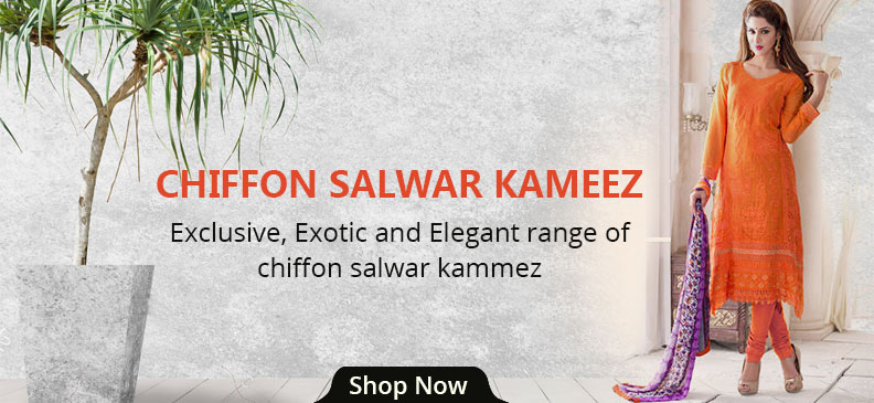 Chiffon Salwar Suit: Feel Light And Look Classy In Summers