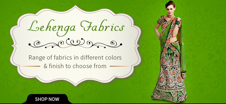 Exciting Types of Lehenga Material