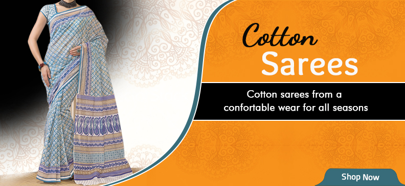 Cotton Sarees: Because Comfort Is A Statement Unsaid!