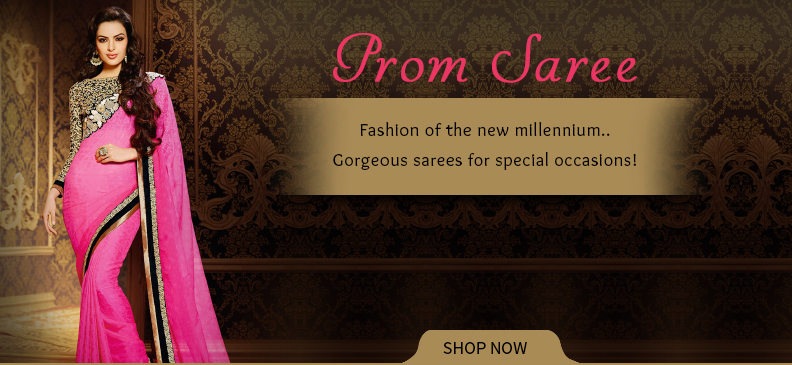 Attractive Prom Sarees