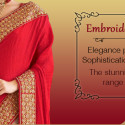 Exquisite Cut Work Embroidery Or Jaali Work From India