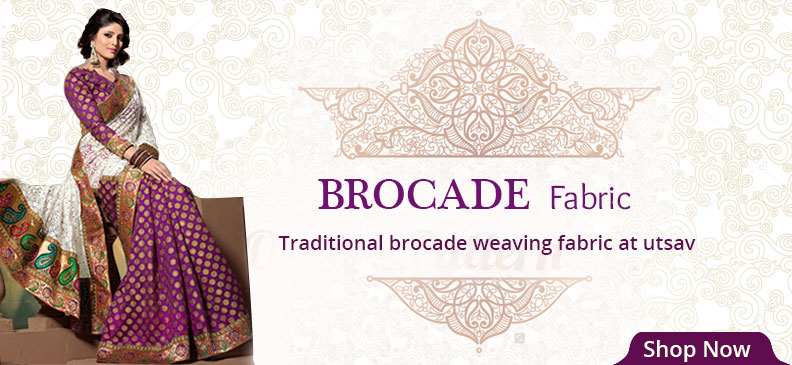 Lustrous Brocade Fabric And Its Types