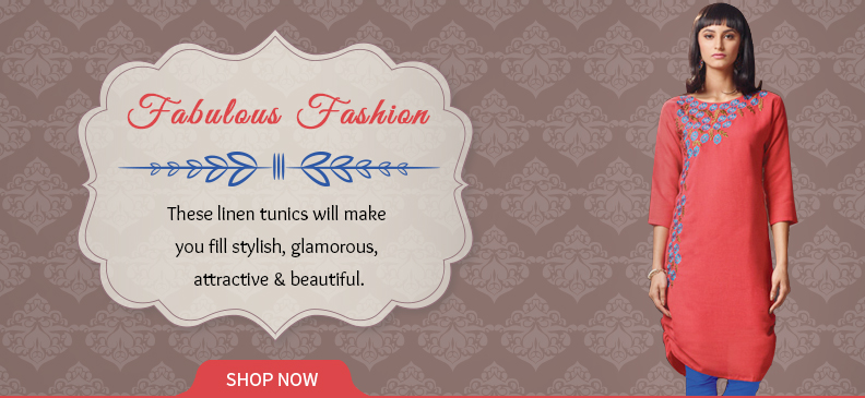 Linen Tunics & Kurtas - Your Go-To Statements in Summers