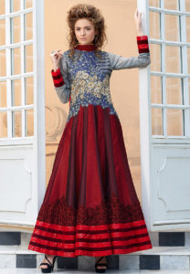 art-silk-anarkali