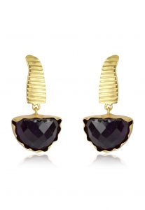 black-dangle-earrings