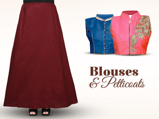 Blouse and Petticoat: Make or Break the Look of Your Saree