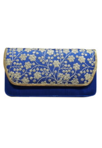 blue-clutch-thread-work