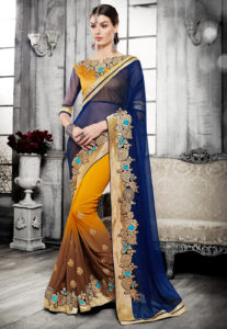 bordered-saree