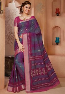 cotton-saree-for-formal-times