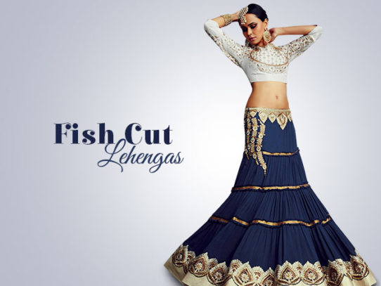 Mermaid Or Fish Cut Lehenga Choli: The Most Figure-Flattering Style