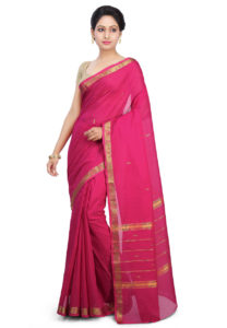 fuchsia-madurai-cotton-saree