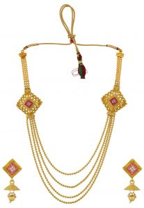 golden-necklace-set