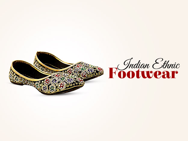 Indian Ethnic Footwear For Him & Her