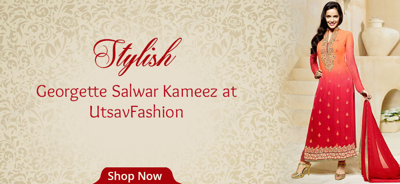 Georgette Salwar Kameez: Most Loved Fabric And The Most Loved Silhouette In India