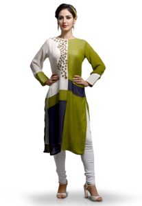 kurta-mirror-work